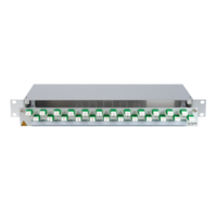 906350 - CCM SpiderLINE Patchpanel 1HE Alu