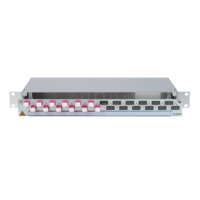 906402 - CCM SpiderLINE Patchpanel 1HE Alu