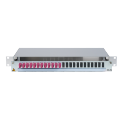 906498 - CCM SpiderLINE Patchpanel 1HE Alu