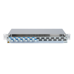 906320 - CCM SpiderLINE Patchpanel 1HE Alu