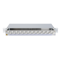 907236 - CCM SpiderLINE Patchpanel 1HE Alu PRO