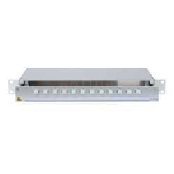 907239 - CCM SpiderLINE Patchpanel 1HE Alu PRO