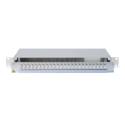 918181 - CCM SpiderLINE Patchpanel 1HE Alu PRO