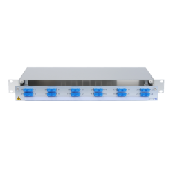 921050 - CCM SpiderLINE Patchpanel 1HE Alu PRO