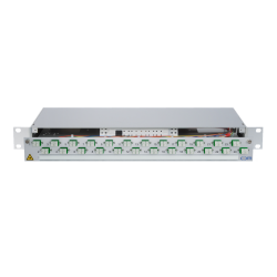 921829 - CCM Patchpanel 1HE Alu PRO