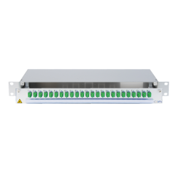 922778 - CCM SpiderLINE Patchpanel 1HE Alu PRO