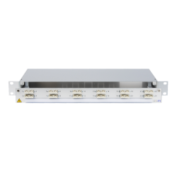 932868 - CCM SpiderLINE Patchpanel 1HE Alu PRO