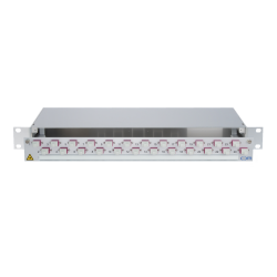 938313 - CCM SpiderLINE Patchpanel 1HE Alu PRO