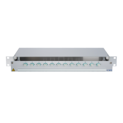 940192 - CCM SpiderLINE Patchpanel 1HE Alu PRO