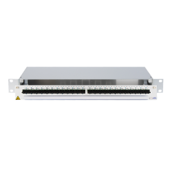 940170 - CCM SpiderLINE Patchpanel 1HE Alu PRO