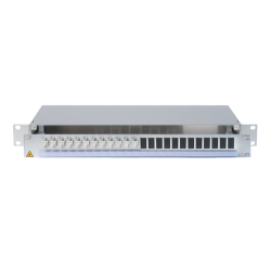 942000 - CCM SpiderLINE Patchpanel 1HE Alu PRO