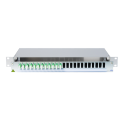 945721 - CCM SpiderLINE Patchpanel 1HE Alu PRO