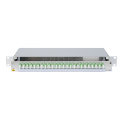 945722 - CCM SpiderLINE Patchpanel 1HE Alu PRO