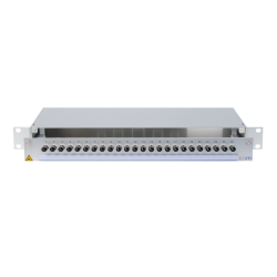 945074 - CCM SpiderLINE Patchpanel 1HE Alu PRO