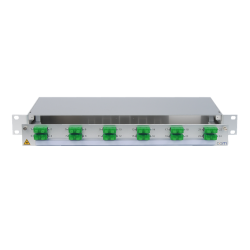 947594 - CCM SpiderLINE Patchpanel 1HE Alu PRO