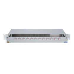 948473 - CCM SpiderLINE Patchpanel 1HE Alu PRO